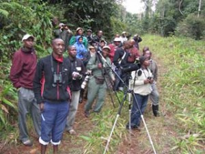 Fundamentals of Ornithology course fieldtrip
